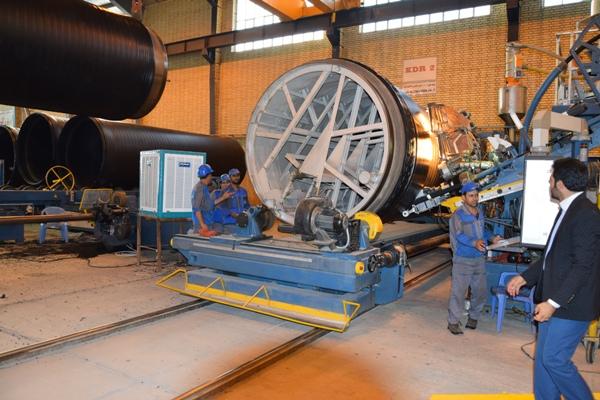 بازدید وزیر صنعت، معدن و تجارت از کارخانه دنا صنعت باقری یاسوج