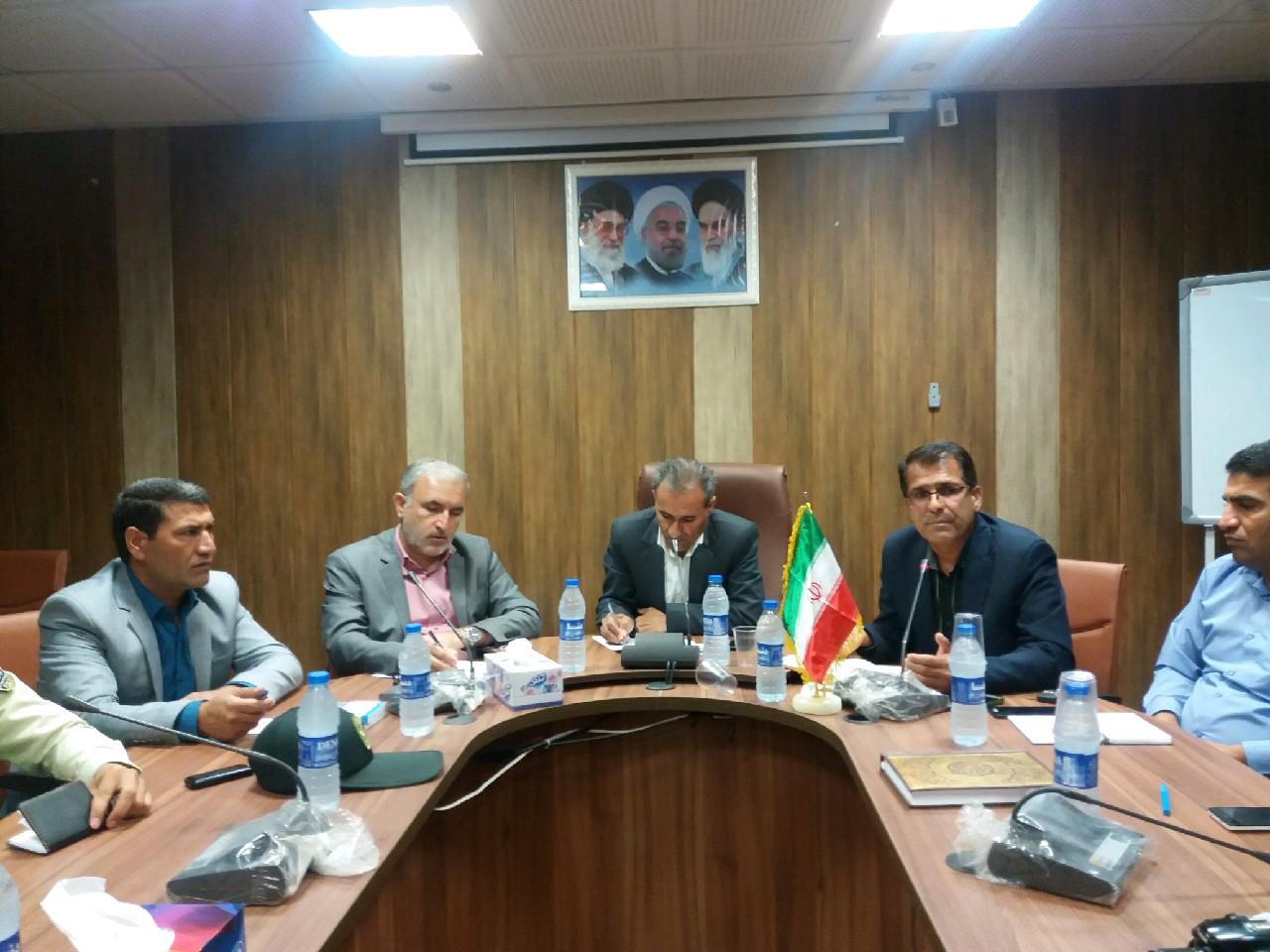 جلسه تنظیم بازار شهرستان چرام